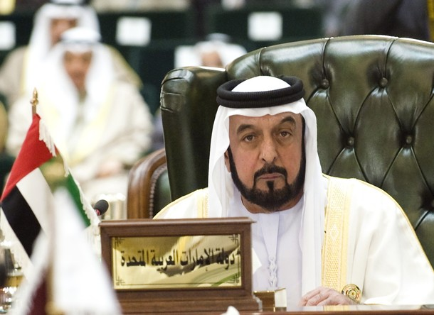 File photo of UAE President Sheikh Khalifa listening to closing remarks during the closing ceremony of the GCC summit in Bayan Palace