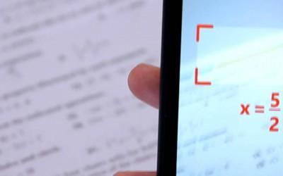 فيديو: تطبيق مجّاني لحلّ مسائل الرياضيات فقط بتصويرها !