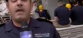فيديو: مقتل عاملان مصريان في حادثة إنهيار سلالم مبنى قيد الإنشاء في السالمية