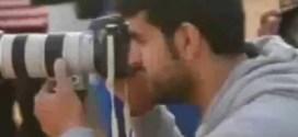 فيديو : فيلم سينمائي على طريقة هوليوود يسجل تحركات المصورين !