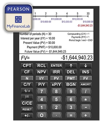 Learn More Financial Calculator Students MyFinanceLab Pearson - financial calculator