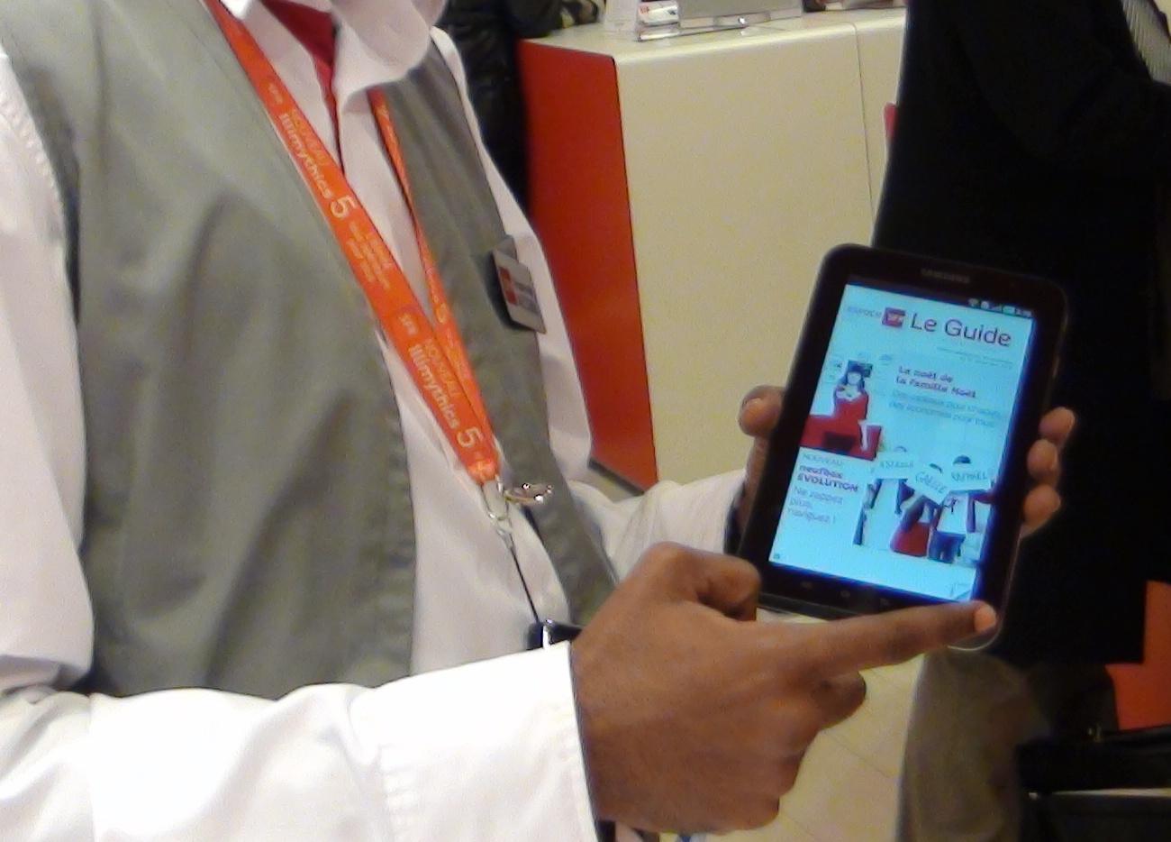modele cv tablette