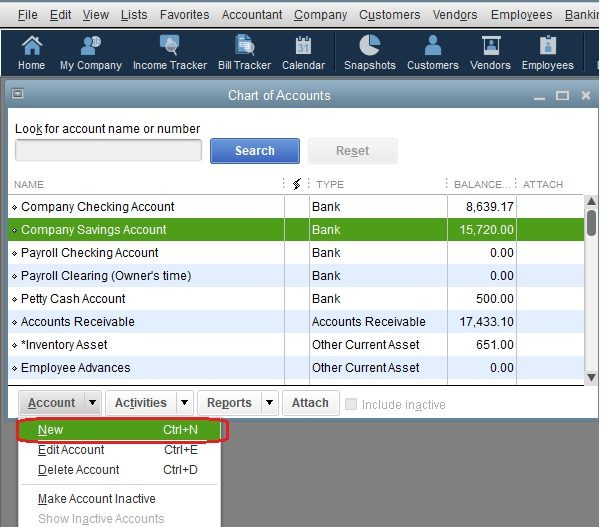How to set up a Chart of Accounts in QuickBooks - QBalance