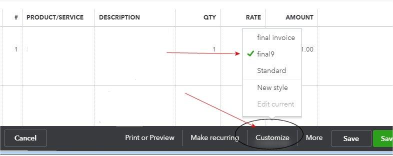 Customizing QuickBooks Online Invoice Templates - QBalance