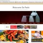 sito ristorante Da Paolo