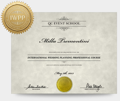 Wedding Planning Course - QC Event School - wedding plans