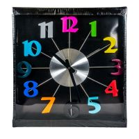Wall Clock Large Numbers