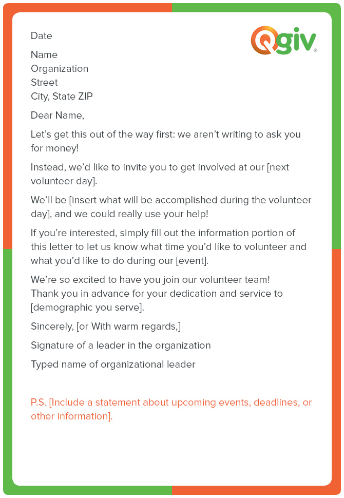 9 Awesome (and Effective) Fundraising Letter Templates
