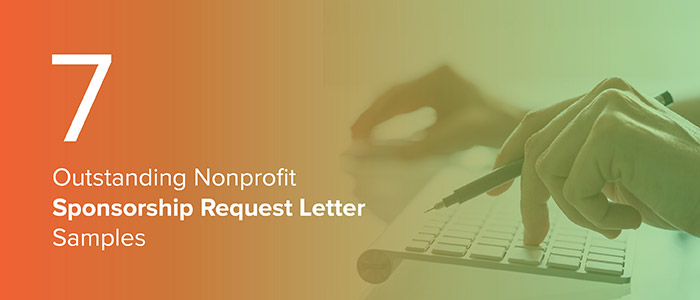 7 Outstanding Nonprofit Sponsorship Request Letter Samples - Qgiv Blog