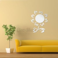 Removable DIY 3D Mirror Surface Wall Stickers Mural Art
