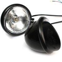 Motorcycle Spot Light Lamp Bar Set Turn Signal Bracket For ...