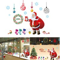 Large Christmas Tree Wall stickers Window Decal Mural