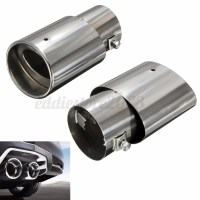 Universal Car Exhaust Muffler Stainless Steel Tail Pipe ...