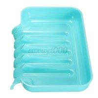 Plastic Bathroom Kitchen Waterfall Drain Soap Dish Sponge ...
