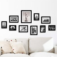 Multi Photo Frames Set Home Room Office Decor Picture ...