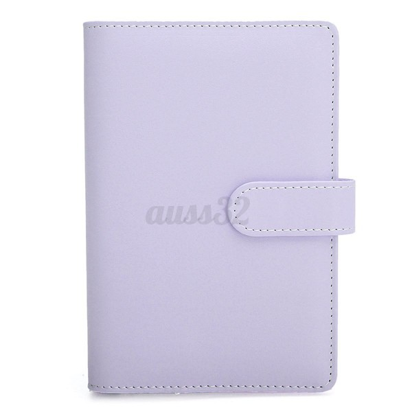 3 Color A5 A6 Loose Leaf Ring Binder Notebook Shell Weekly Monthly