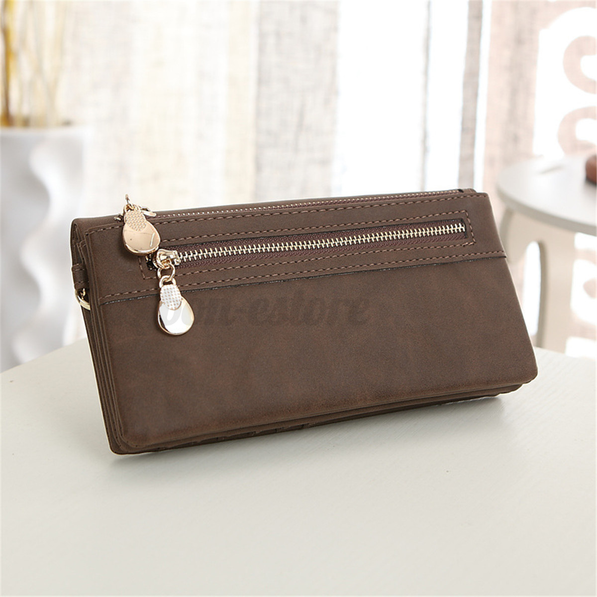 Women Wallet Wrist Card Coin Holder Long Wallet Clutch