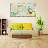 Modern Colorful Art Canvas Oil LED Painting Picture Print ...