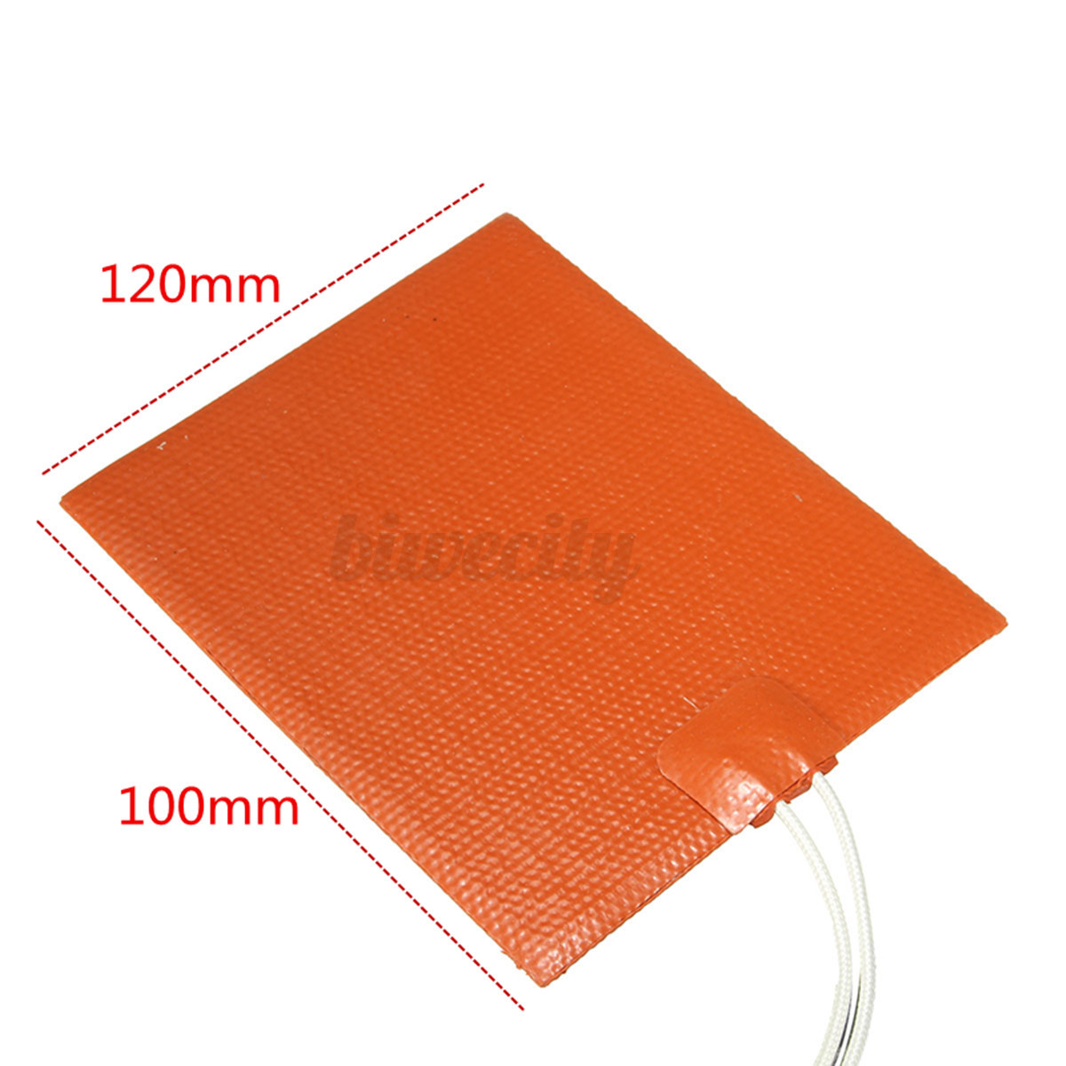 12v 12w Flexible Silicone Rubber Heater Hive Heating Plate