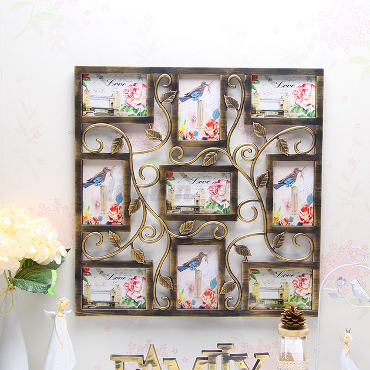8 Types 6'' Collage Multi Photo Frames Picture Display