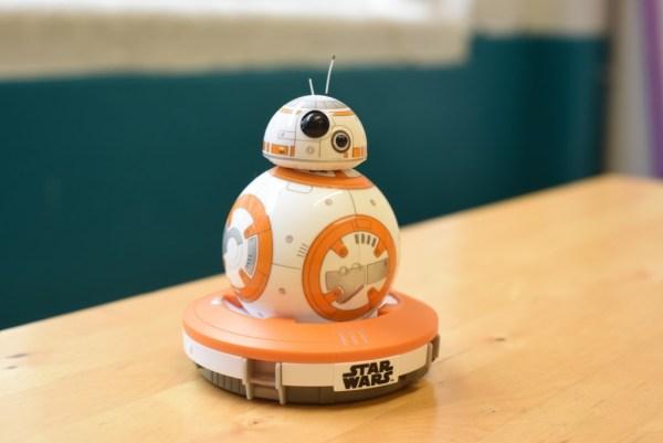 BB-8 robot standing