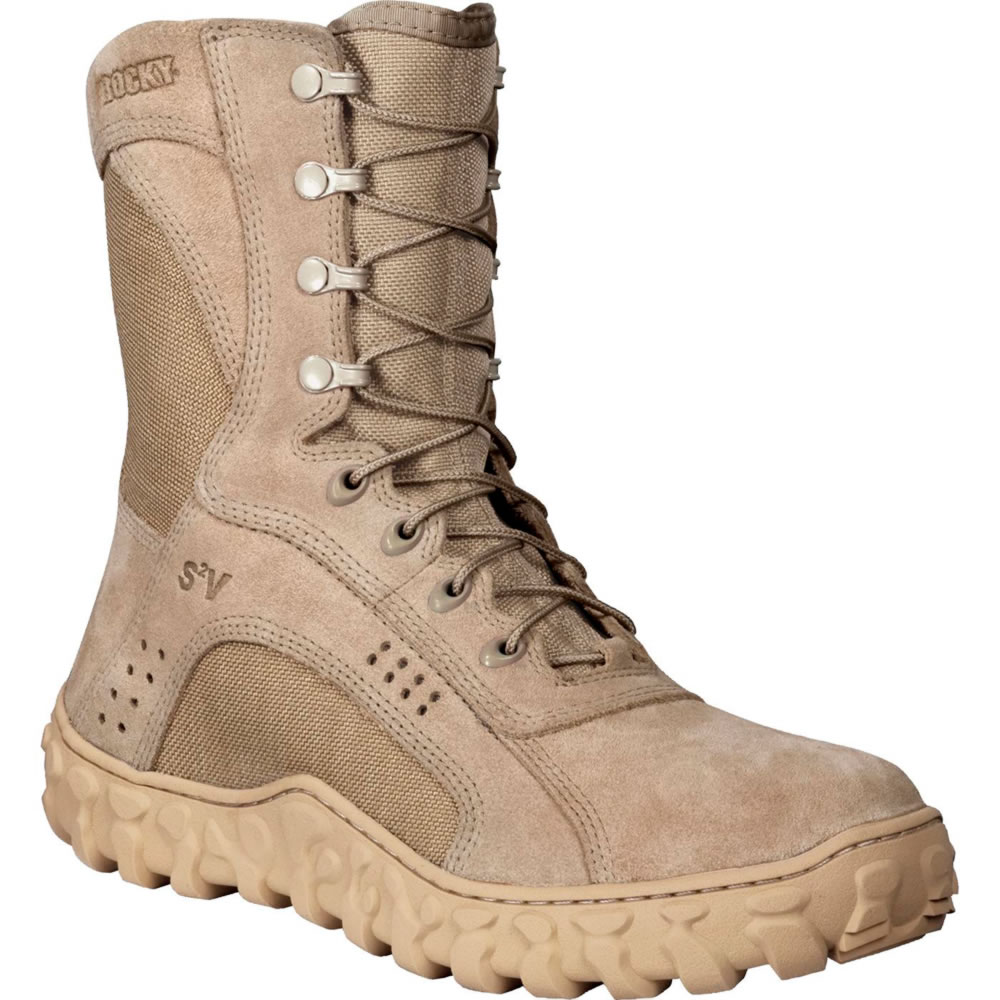 Rocky S2v Tactical Steel Toe 8quot Boot P4465