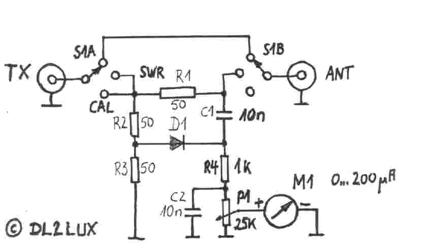 simple swr bridge circuit diagram tradeoficcom