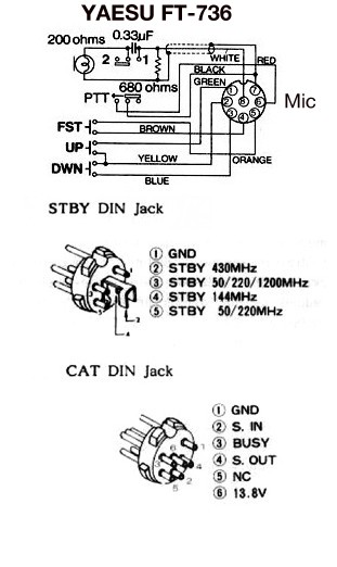 kenwood 4 pin mic wiring diagram