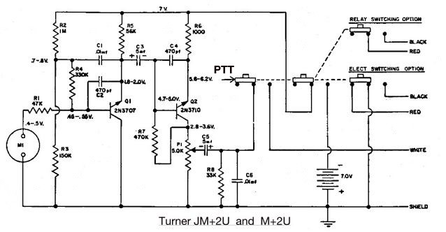 Astatic 6 Wire Mic Wiring Control Cables  Wiring Diagram