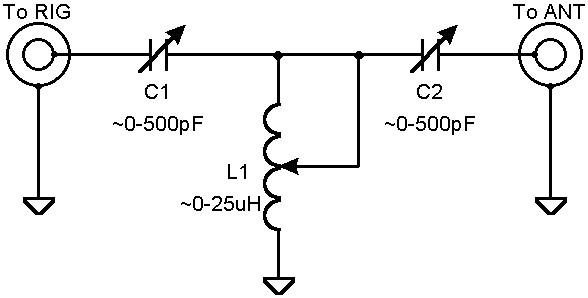 antenna tuner schematic