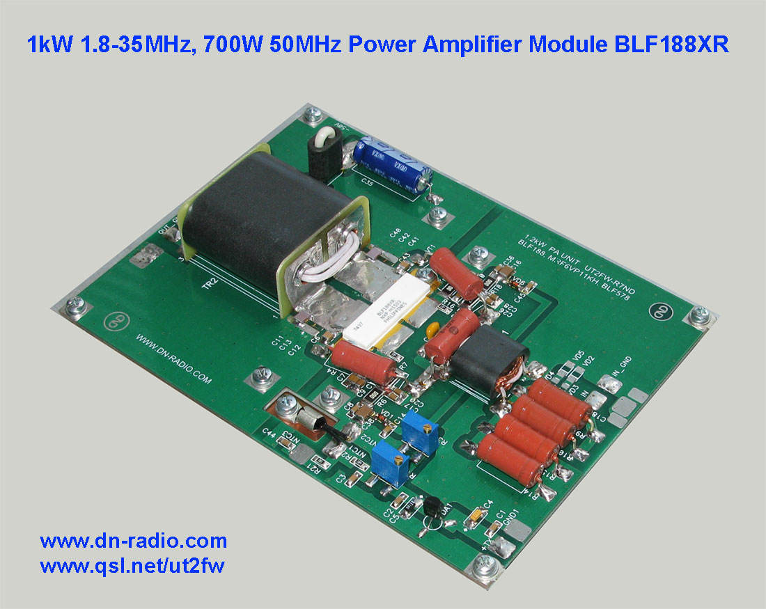 1kw 18 30mhz 700w 50mhz Hf Power Amplifier Board For