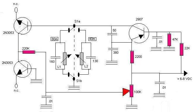 there are fancier designs available but the above circuits