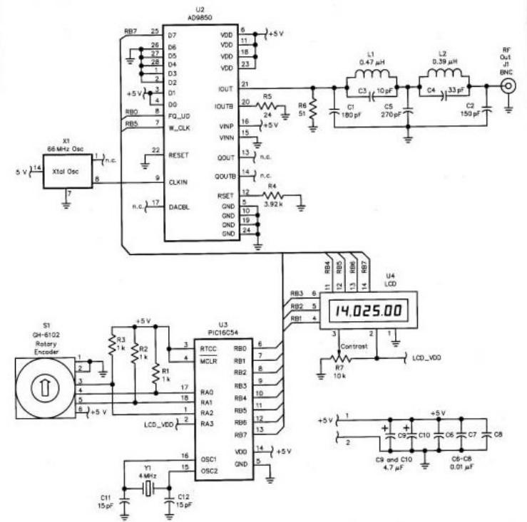 simple vfo circuit