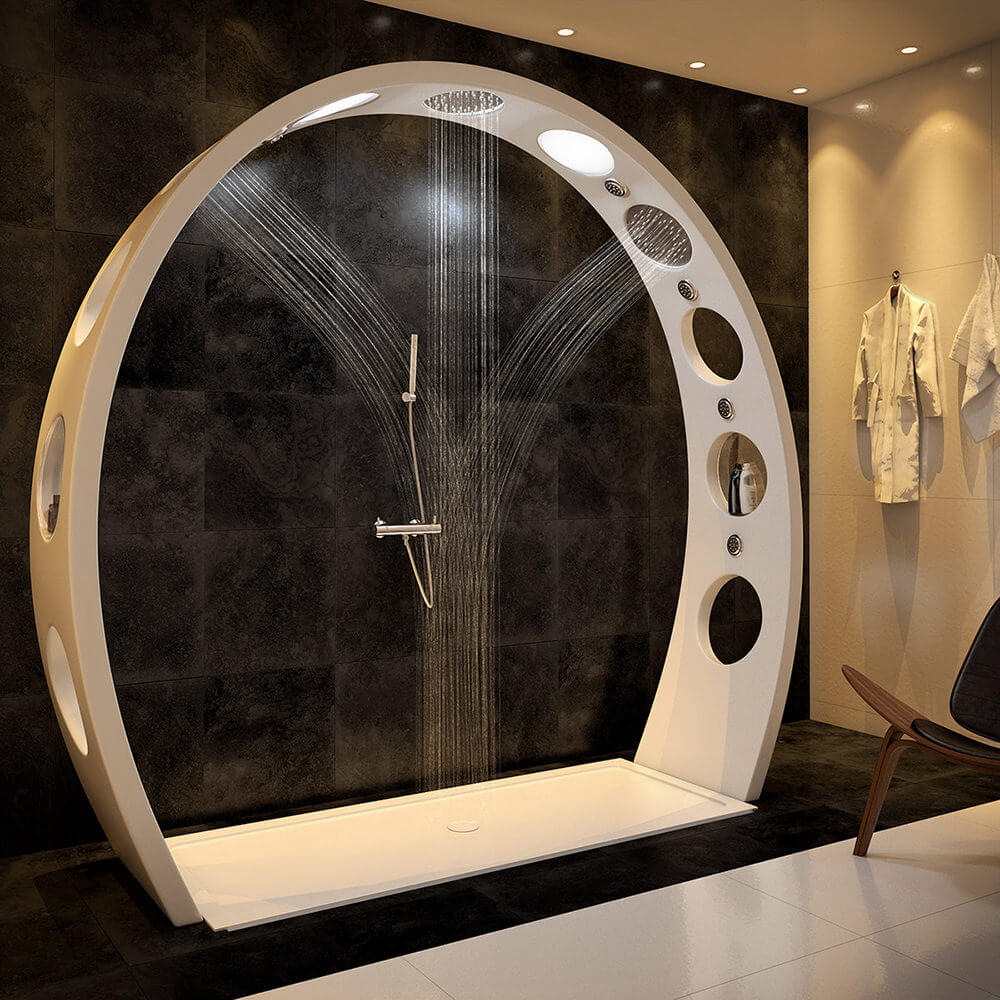 Futuristic Conceptual Bathroom Design
