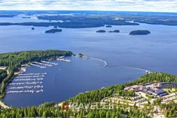 Panorámica del Lago de Saimaa