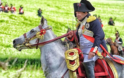 Battle of Waterloo Reenactment - copyright Chantal Crävecoeur