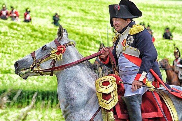 Battle of Waterloo Reenactment - copyright Chantal Crävecoeur