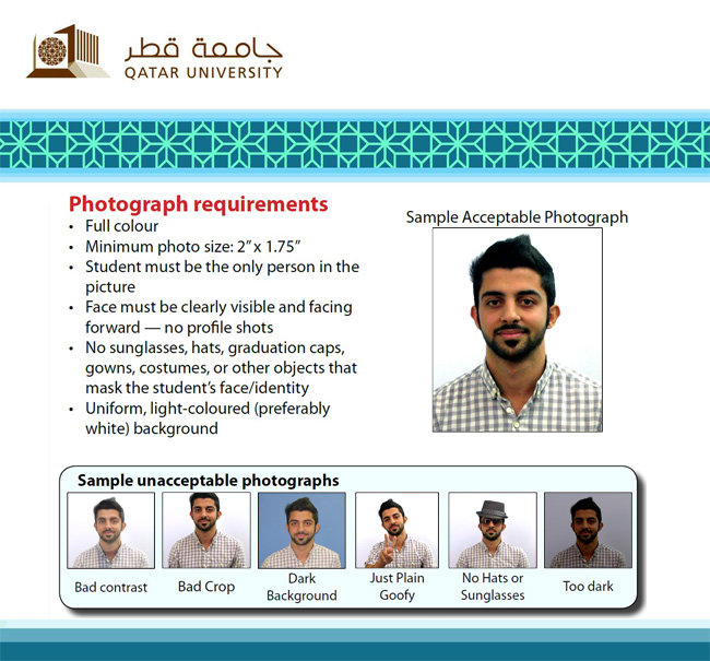 Request Your ID Card Online Qatar University
