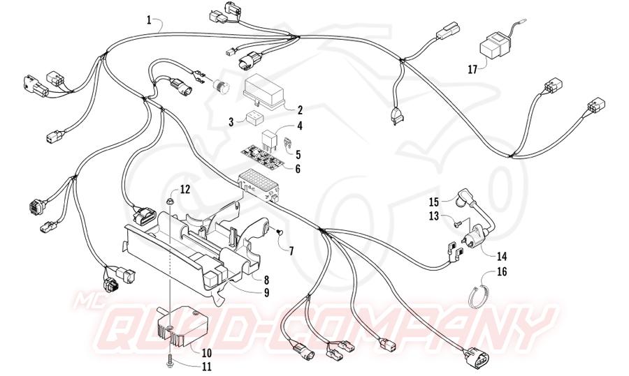 suzuki quadrunner 350 wiring diagram