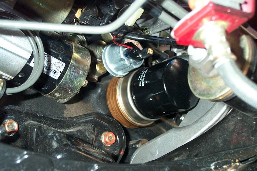 Mazda MX-5 Miata Oil Pressure Sender Replacement