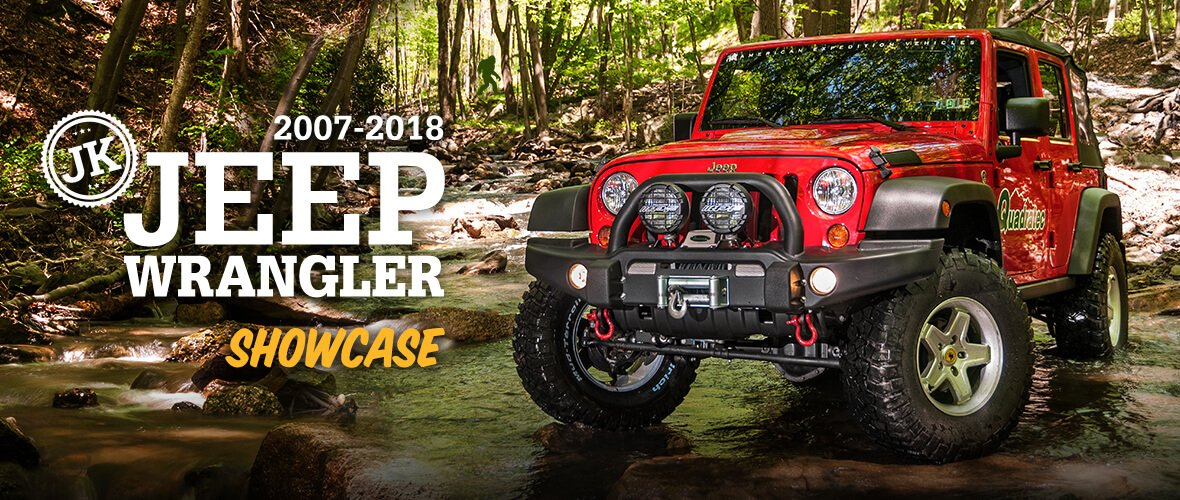2007-2018 Jeep Wrangler JK Accessories  Parts Quadratec