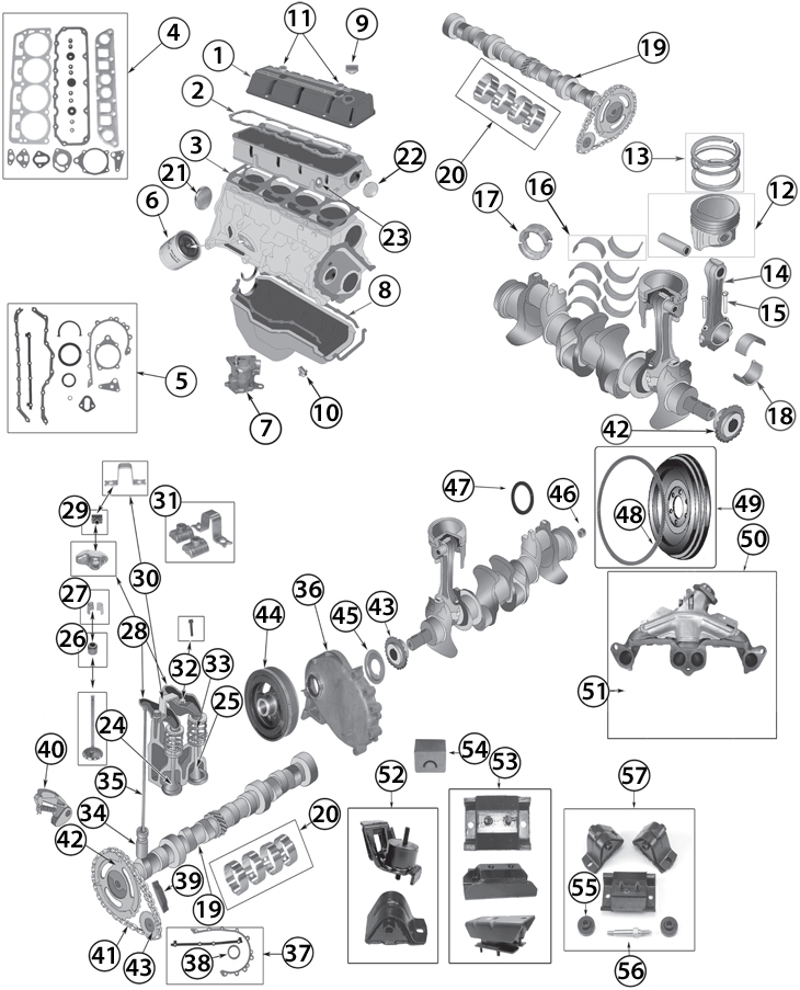2 5 iron duke engine diagram
