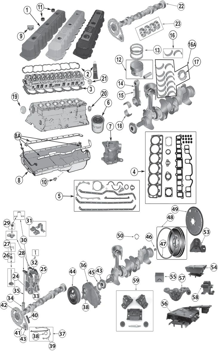 2004 jeep wrangler engine diagram