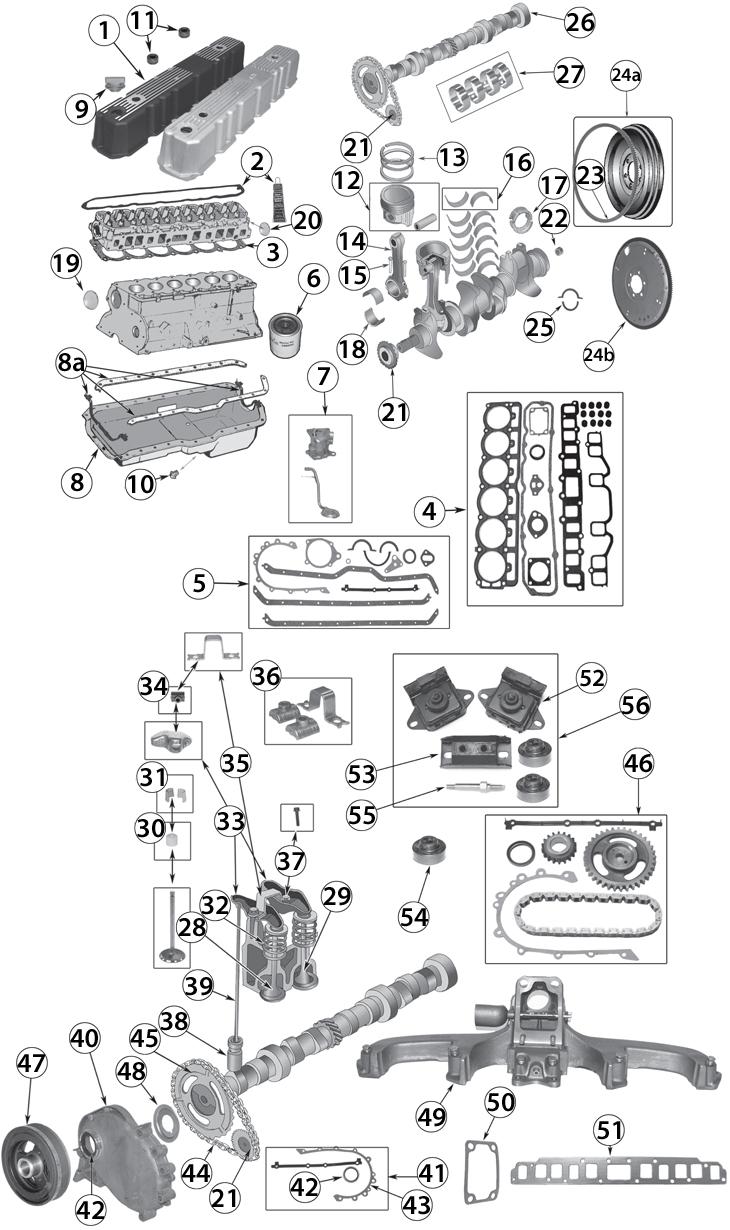 jeep 4 cylinder engine diagram