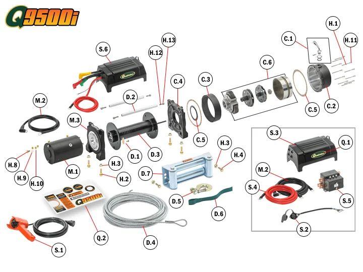 wiring diagram for quadratec q9500i