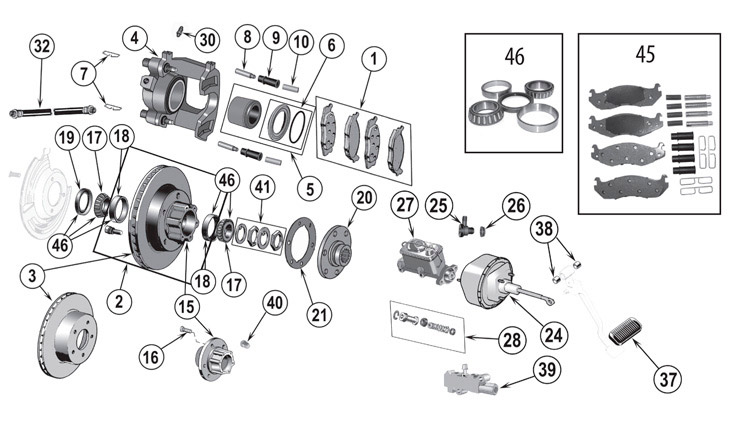 jeep cj brake line diagram