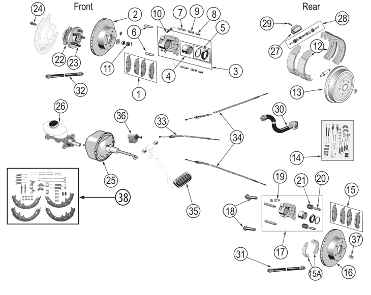need a diagram for rear drum brake assembly solved fixya
