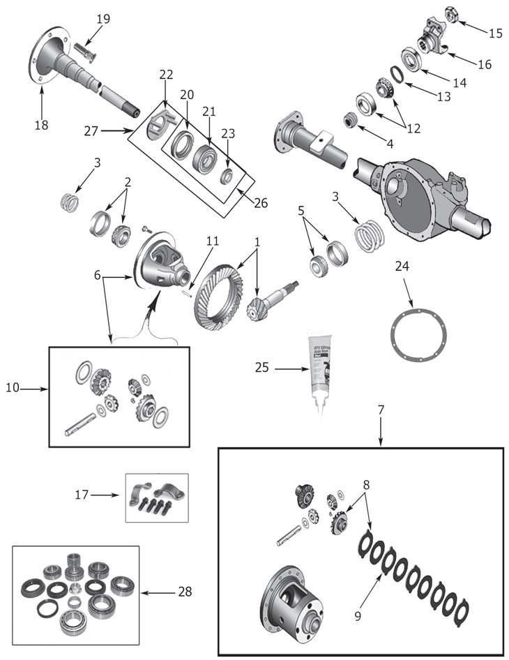 jeep grand cherokee differential
