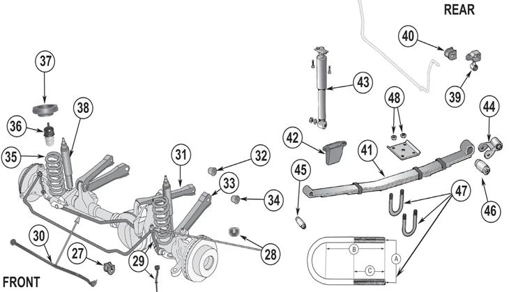 jeep wrangler front end diagram on jeep liberty front end diagram