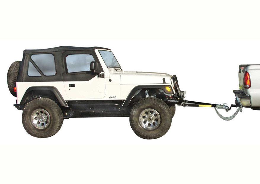 Flat Towing a Jeep Wrangler Quadratec